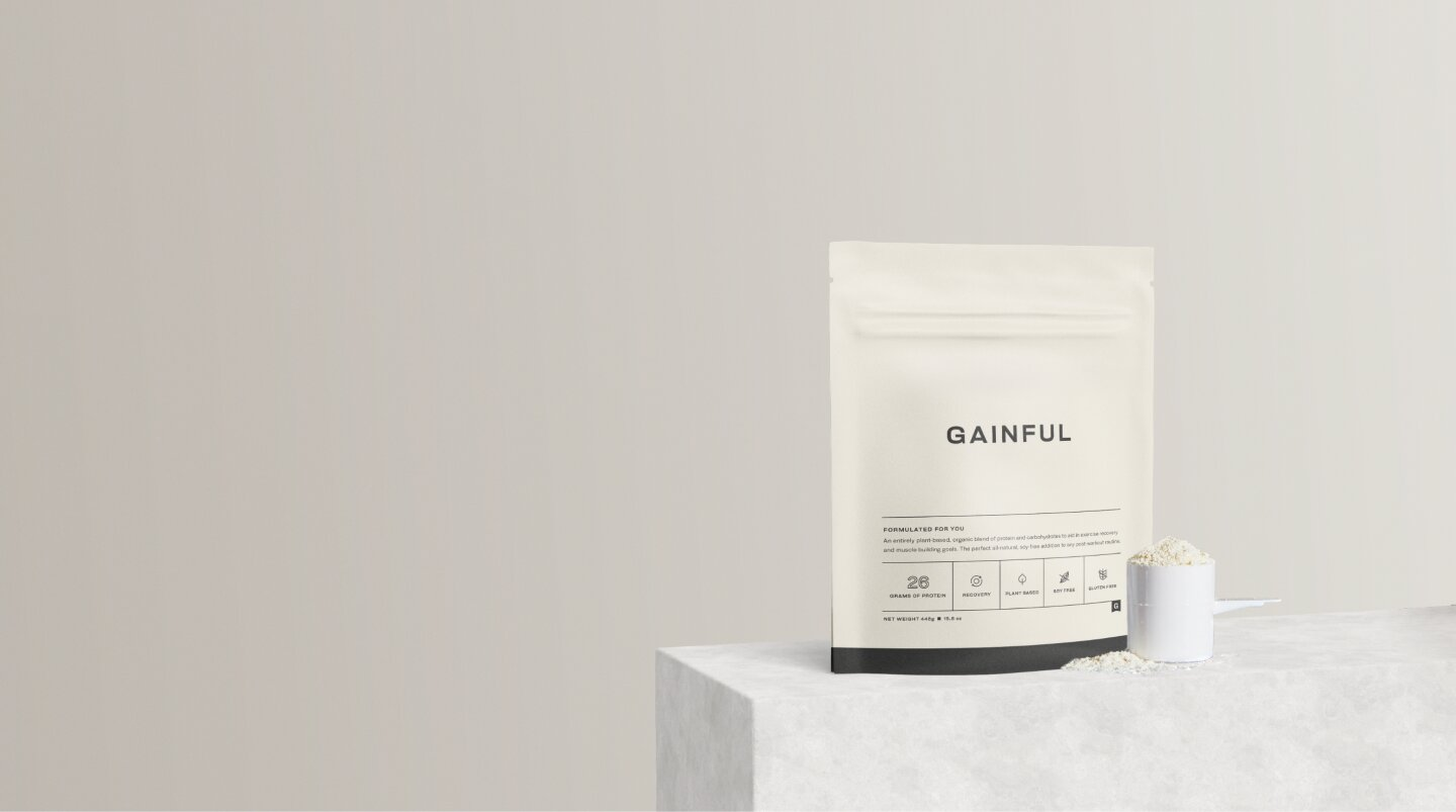 Gainful protein bag