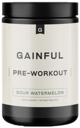 Gainful preworkout bottle